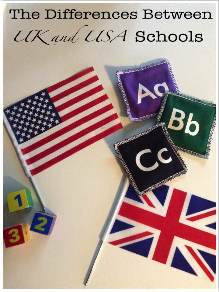 The Differences Between UK and USA Schools