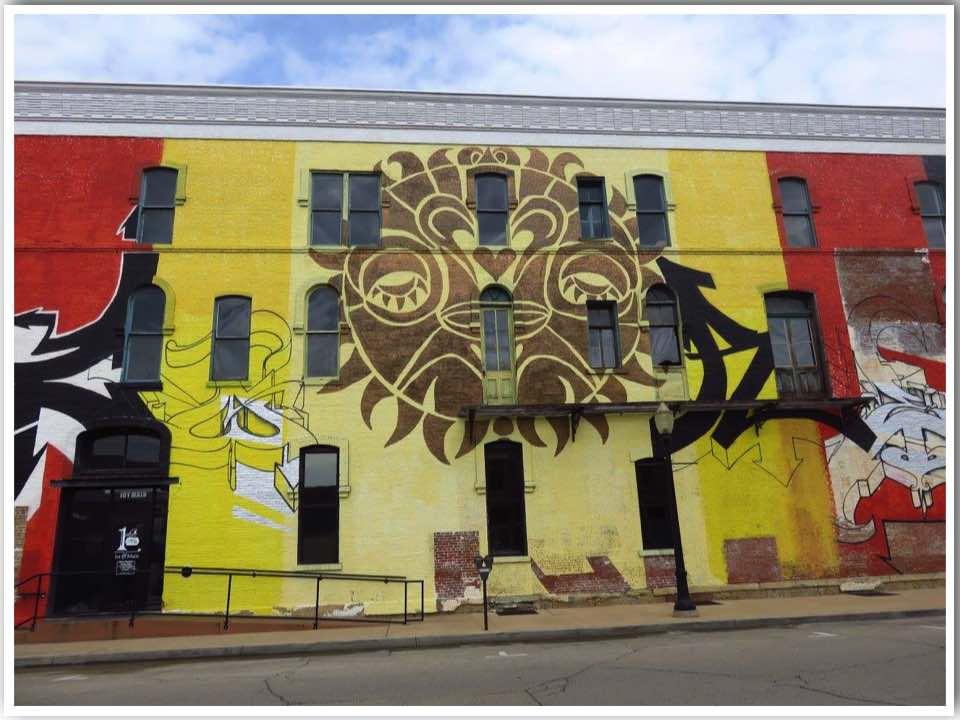 1st & Main Dubuque Mural Iowa
