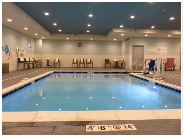 Hilton Garden Inn Iowa City Indoor Pool