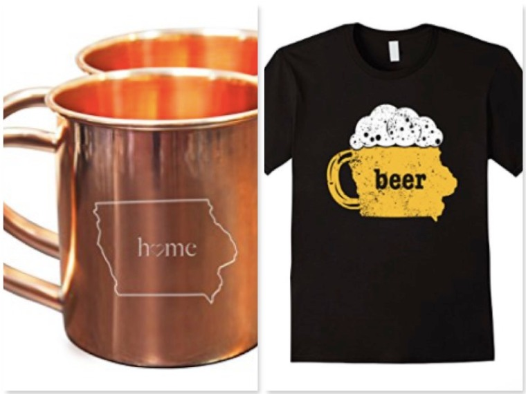Iowa Drinking Gifts