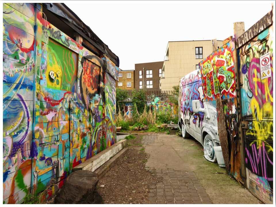 Nomadic gardens London