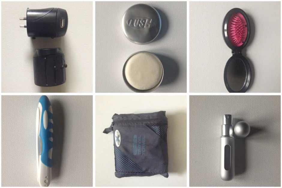 Accessories for packing light