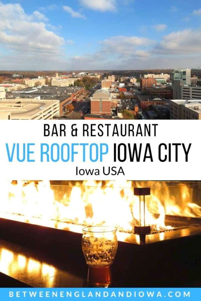 Vue Rooftop Iowa City: Rooftop Bar and Restaurant in Iowa City Iowa USA