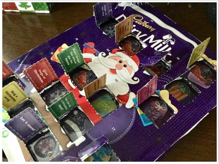 British Christmas Traditions Advent Calendars