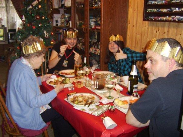 British Christmas Day Dinner