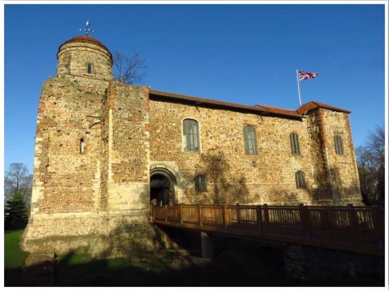 Colchester Castle Essex England