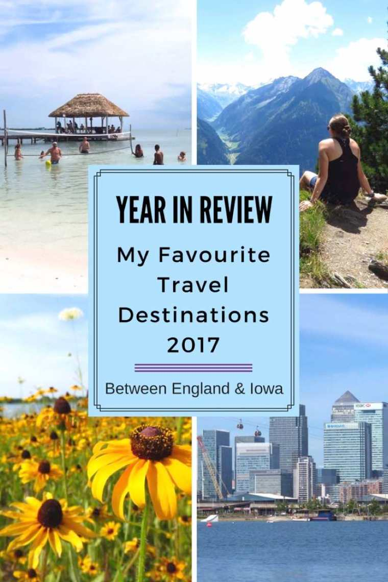 Favourite 2017 Travel Destinations
