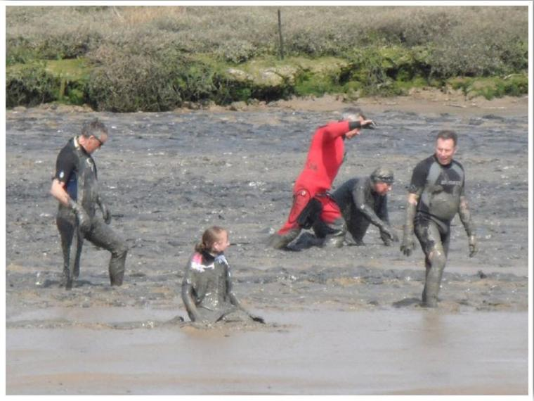 Maldon Mud Race Essex England