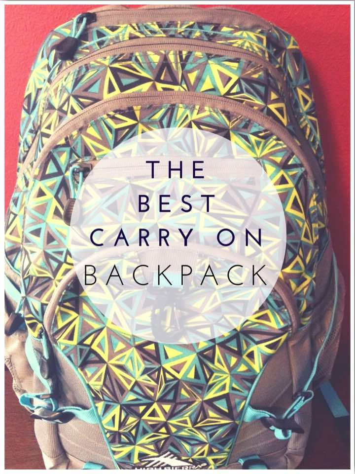 The Best Carry On Backpack for Weekend Travel