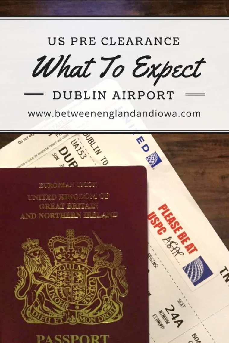 US Pre Clearance. What to expect clearing US Immigration at Dublin Airport Ireland