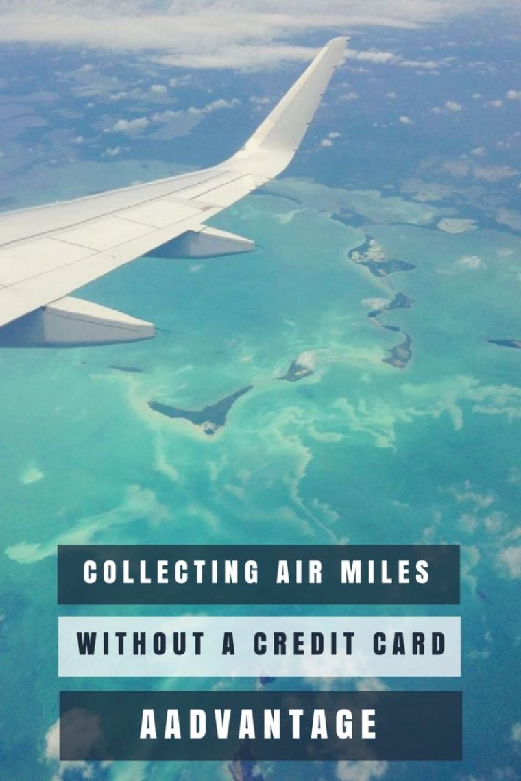 Collecting Air Miles Without a Credit Card with AAdvantage