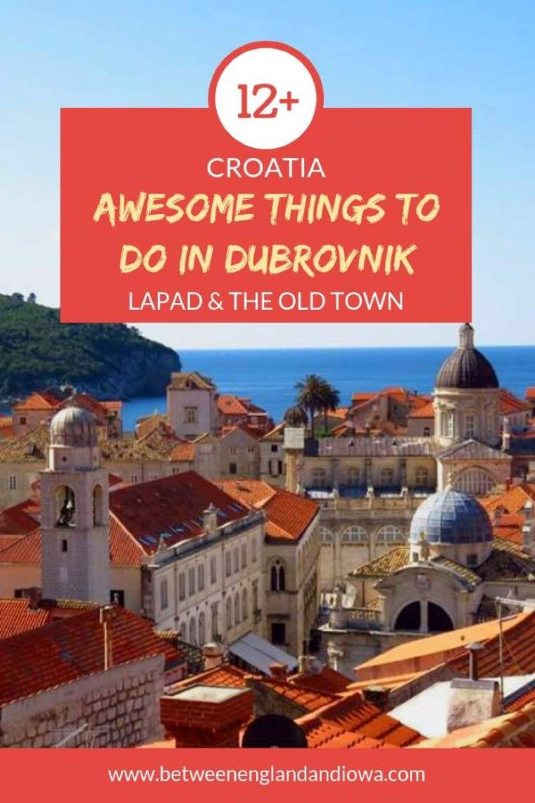 12+ Awesome things to do in Dubrovnik. A guide to Lapad and Dubrovnik's Old Town in Croatia