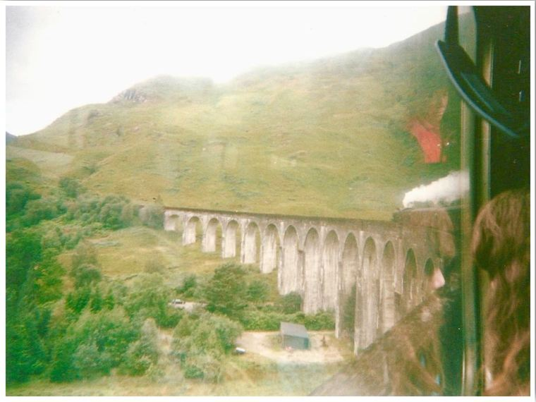 Glenfinnan Viaduct Scotland Harry Potter Set Location