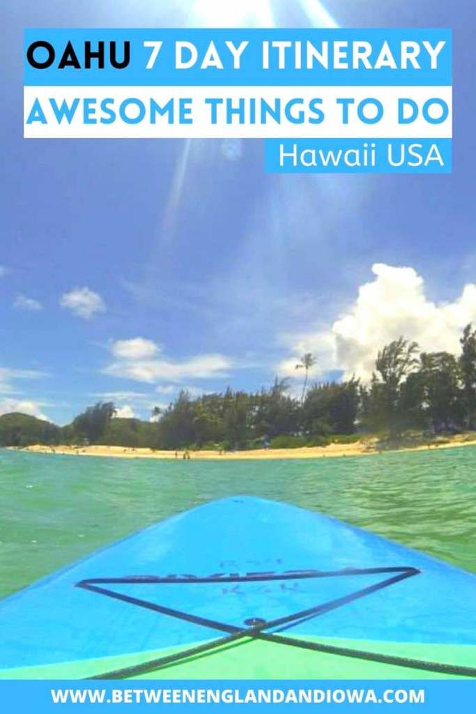 Oahu 7 Day Itinerary. One week in Oahu Hawaii