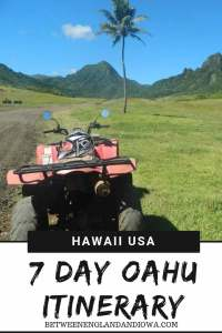7 Day Oahu Itinerary and things to do on the Windward side of Oahu in Hawaii USA!