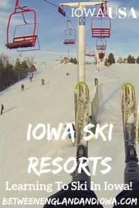 Skiing in Iowa USA. Learn to ski in Iowa at these Iowa Ski Resorts in the Midwest!
