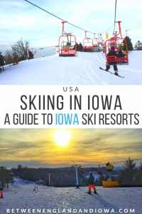 Skiing in Iowa USA. A guide to Ski Resorts in Iowa. Sundown Mountain | Mount Crescent | Seven Oaks