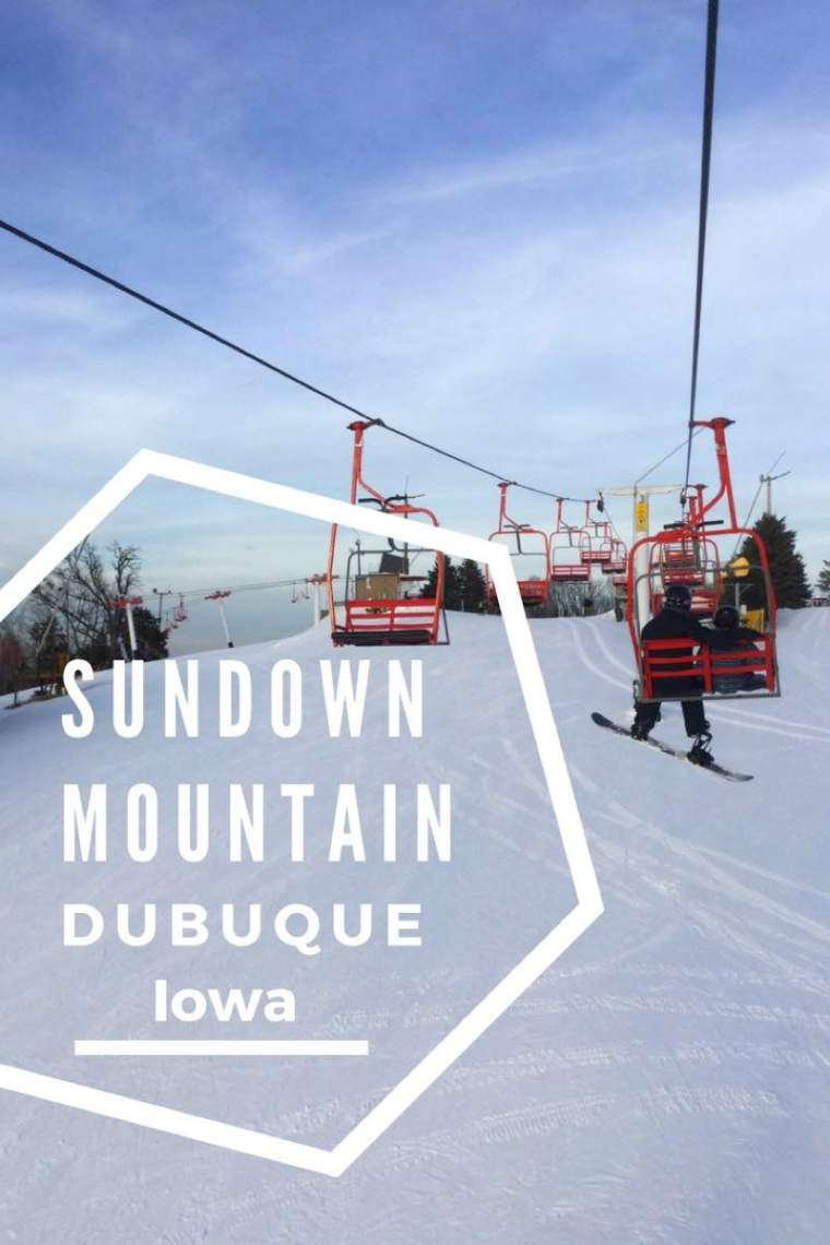 Sundown Mountain Ski Resort in Dubuque Iowa