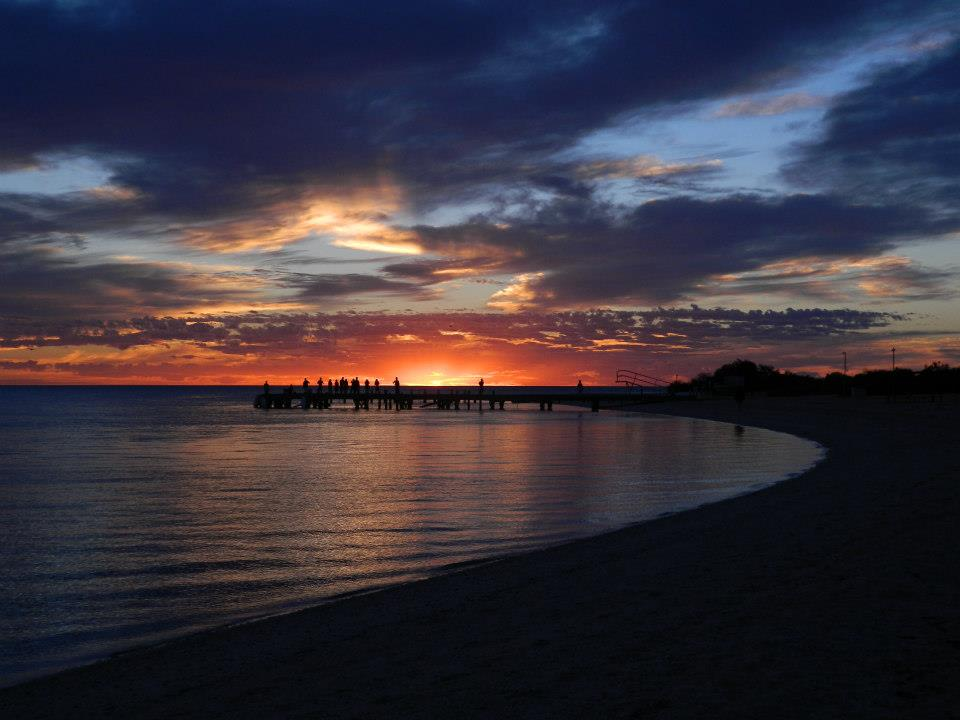Western Australia Monkey Mia Sunrise