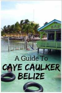 A Guide to Caye Caulker Belize. Things to do in Caye Caulker! #belize #cayecaulker