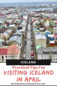 Practical tips for visiting Iceland in April