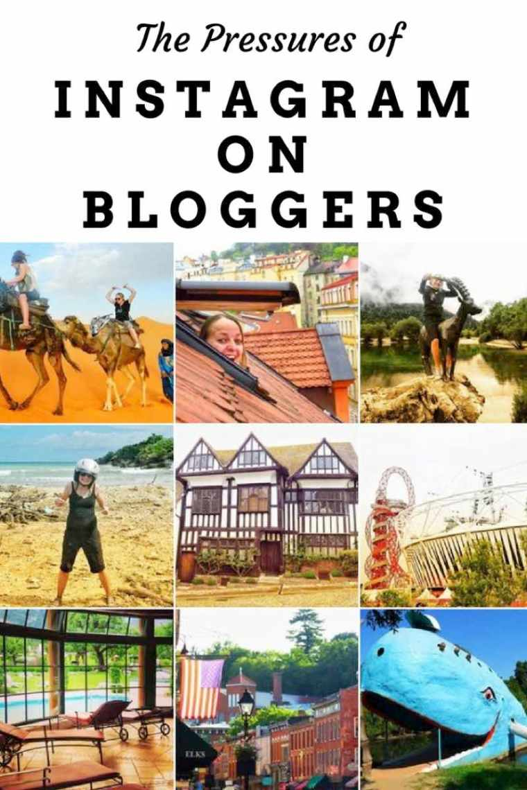 The Pressures of Instagram on Bloggers. Whether you are a travel blogger or a fashion blogger always be YOU.
