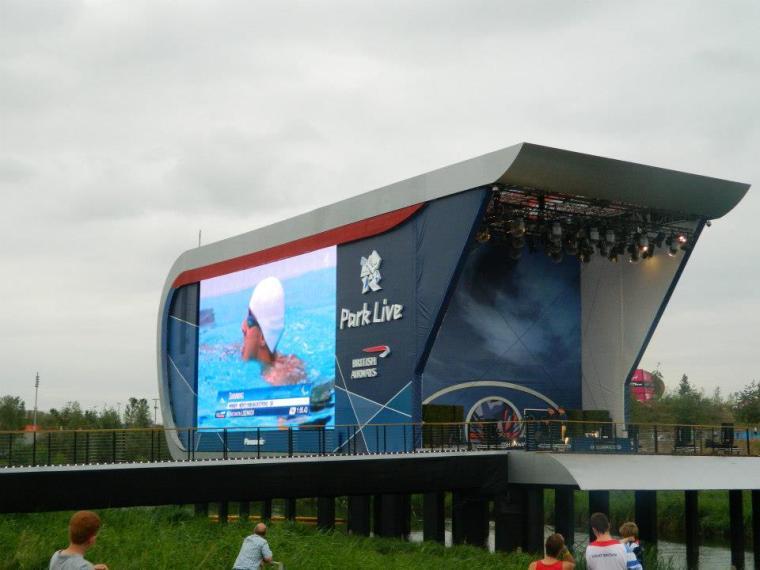 London 2012 Olympics Park Live