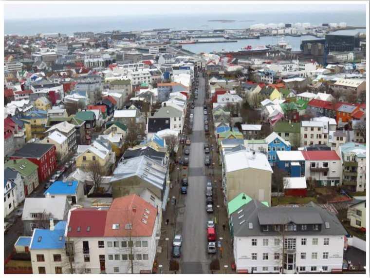 Reykjavik Iceland in April