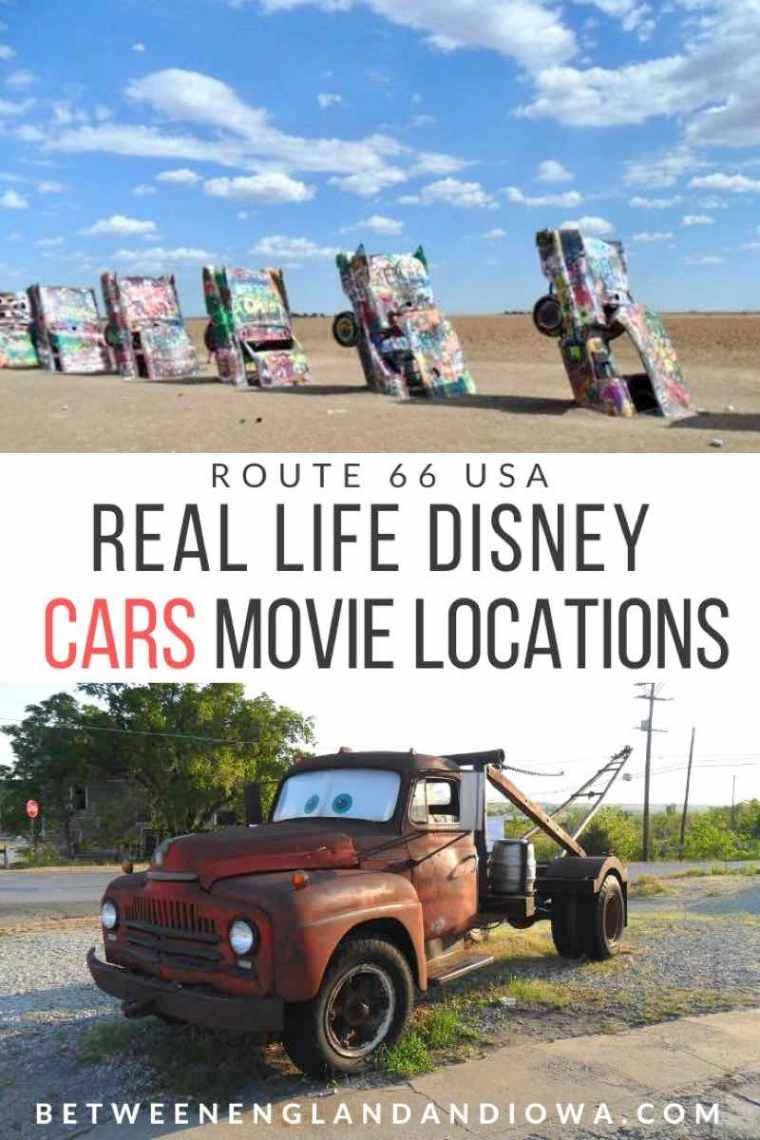Route 66 Cars Movie Locations and Real Life Character and Place Inspiration