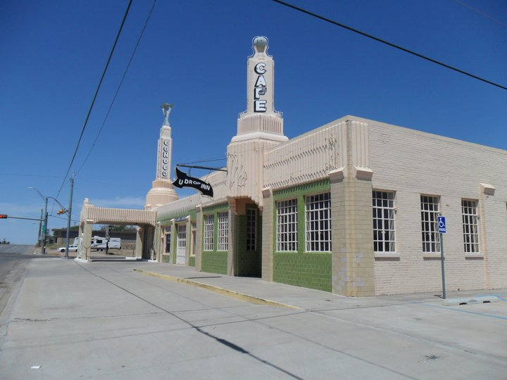 Route 66 Tower Conoco Shamrock Texas