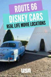 Route 66 Cars Movie Locations