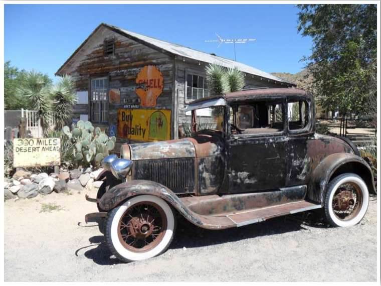 Route 66 Hackberry General Stores Hackberry Arizona