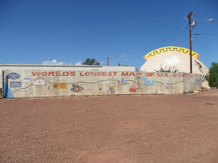 Route 66 Meteor City Arizona