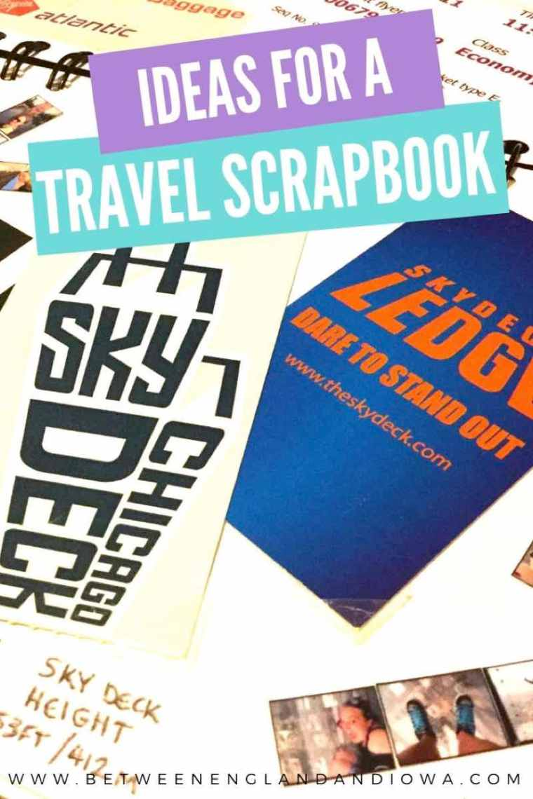 Travel Scrapbook Ideas