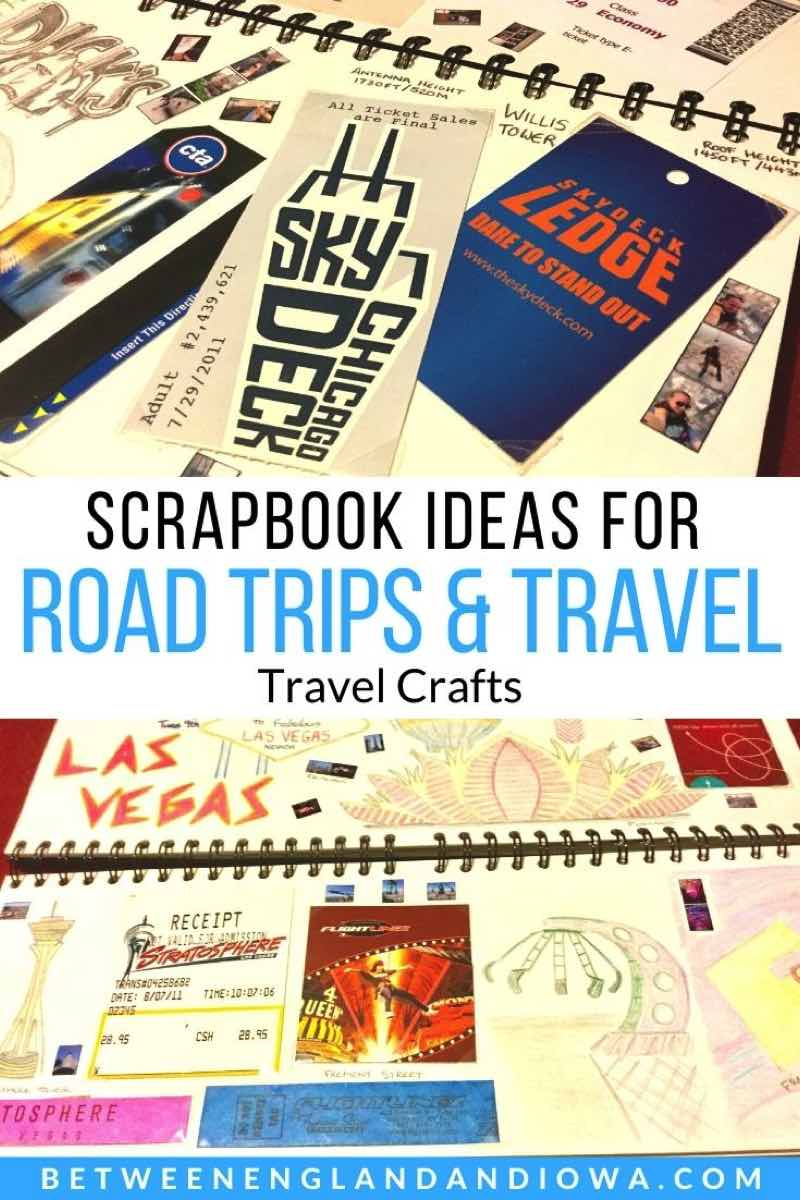 Road Trip Travel Scrapbook Ideas