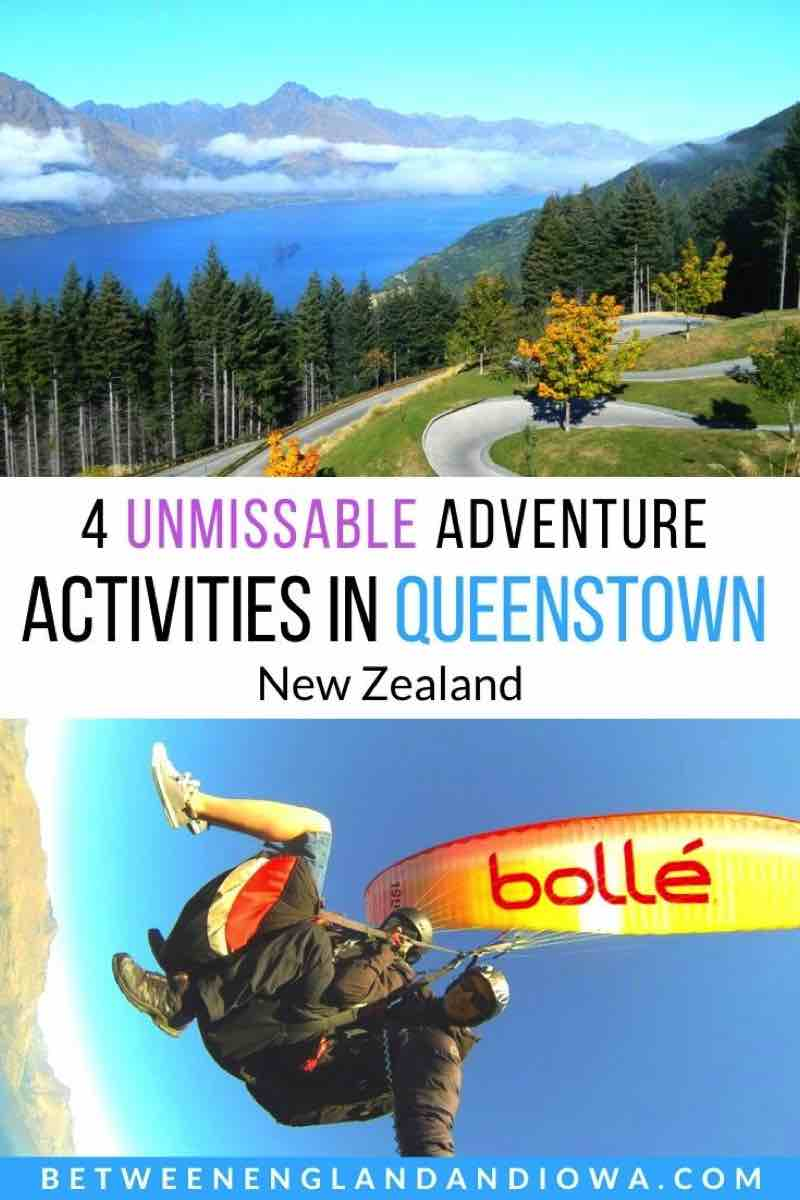 Unmissable Adventurous Queenstown Activities New Zealand