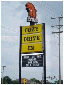Route 66 Cozy Dog Drive In Springfield Illinois
