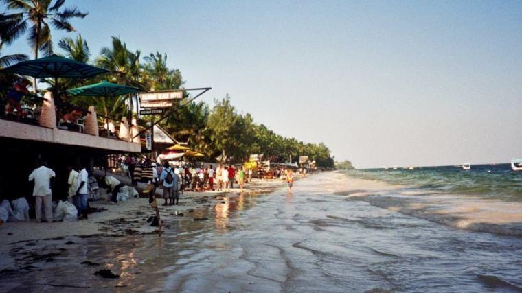 Mombasa Bamburi Beach Kenya