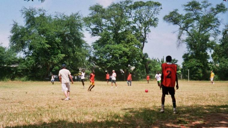 Kenya School Football Match