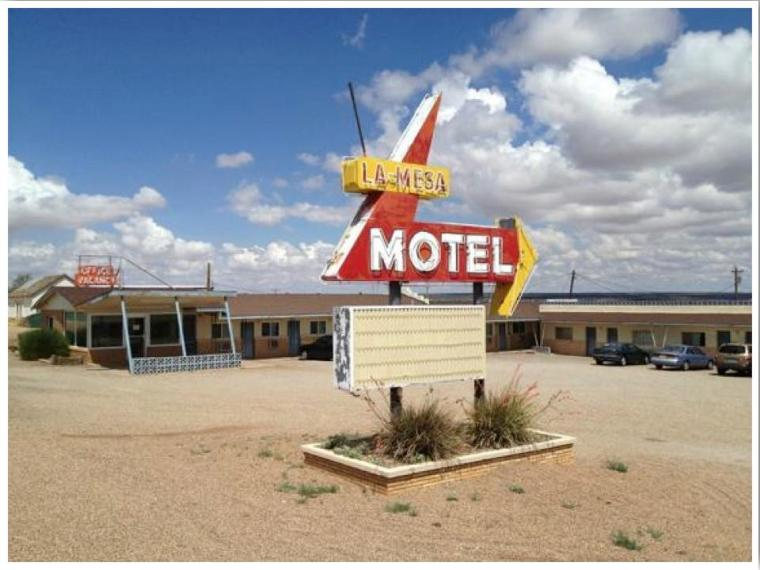 La Mesa Motel Santa Rosa Route 66 Photo Credit Scott