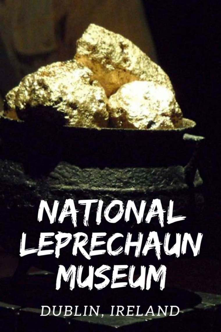 Visiting the National Leprechaun Museum Dublin.  Check out this cool Dublin museum!
