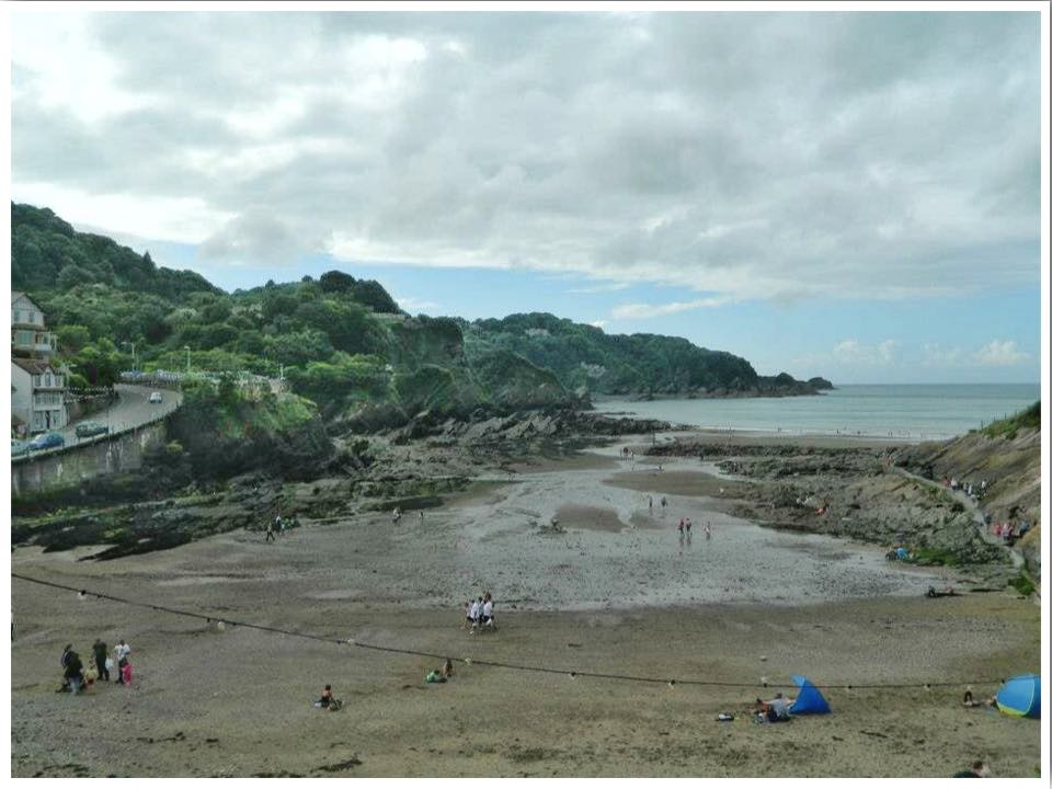 North Devon Combe Martin Beach