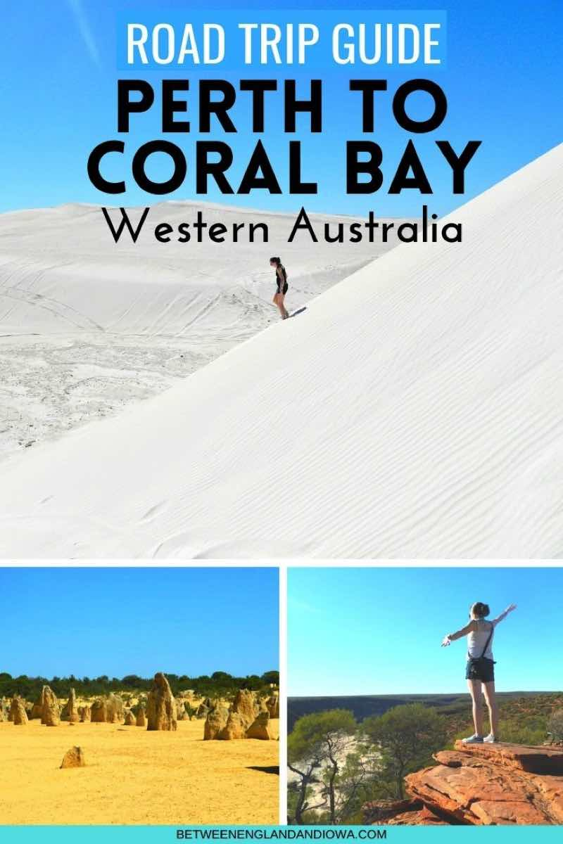 Perth to Coral Bay Road Trip Western Australia Itinerary