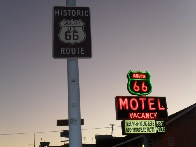 Route 66 Motel Barstow California