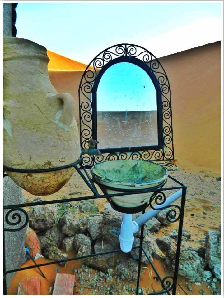 Toilets Sahara Desert Morocco
