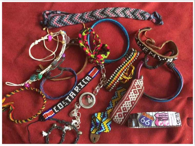 Travel Bracelet Collection