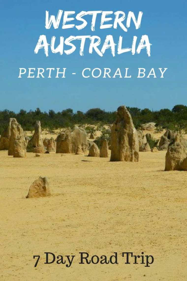 Western Australia Road Trip Itinerary Perth to Coral Bay