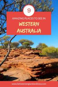 9 Amazing Places to see in Western Australia on a Perth to Coral Bay road trip!