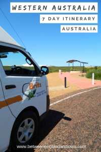 Western Australia Road Trip Itinerary. Perth to Coral Bay in 7 days.