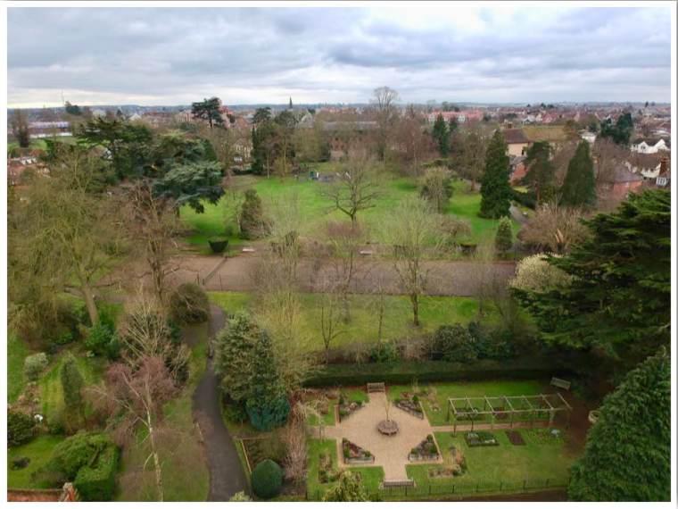 Braintree Public Gardens Essex